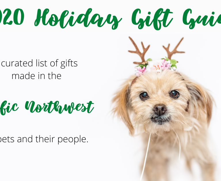 The Seattle Pet Collective's 2020 Holiday Gift Guide for Pets and Their People.